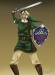 Commission: Link by Stoofpot