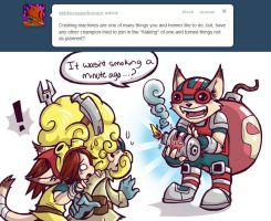 Ziggs makes things... Oh dear by RinTheYordle