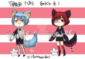Tamashi Fune | Batch One by DarknedStar
