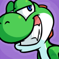Yoshi Grin by Latte3000