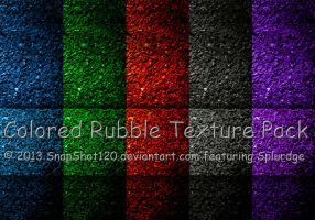 Colored Rubble Texture Pack by SnapShot120