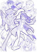 Playing with Fire in Biro by MeiriKobayashi