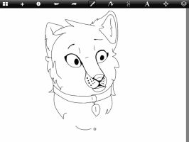 Sprout in sprout's style :wip, ipad: by Hi-TuVy