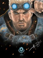 Baird Gears of War Judgment by sanyaca
