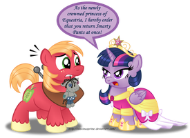 Commission:  Princess Twilight's First Royal Order by AleximusPrime
