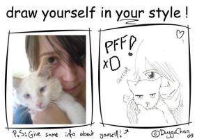 draw yourself in your style mm by YutYuk