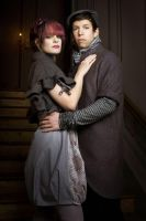 Baroque Couple 04 by KittyTheCat-Stock