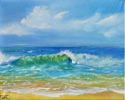 SEASCAPE II by ARTBYTERESA