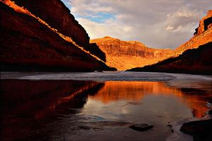Colorado River Reflections by papatheo