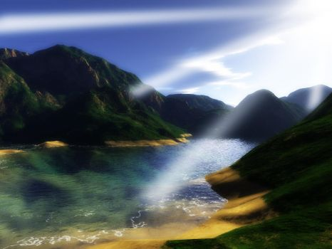 Heavenly Paradise by wyre