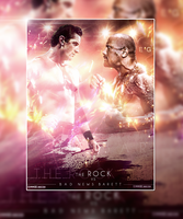 BAD NEWS VS The rock by workoutf