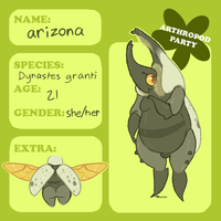 arthropod-party app: arizona by VCR-WOLFE