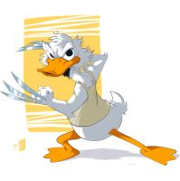 donald duck by holako
