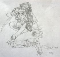 Indian girl by Shalada