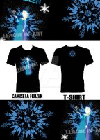 CAMISETA FROZEN T-SHIRT by AkariLunaRico