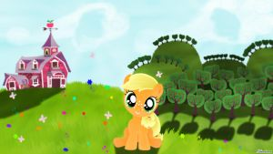 Little Applejack by Oliminor