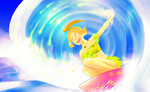 PP: Surfing in sunshine by glutinousRice