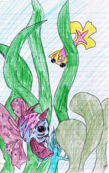 Seaking and Glodeen by SpiderwickElvis