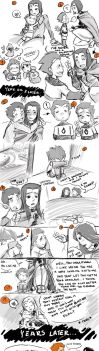 Young Love Comic by Ceshira
