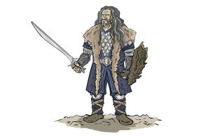 Thorin Oakenshield by marmotagem