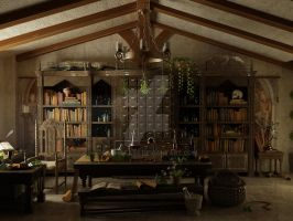 The Apothecary by rachiefase