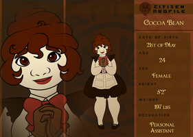 {HGOCT} Capitol Citizen Cocoa Bean by Broeckchen