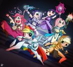 Dungeons and Dragons and Ponies by EshianFulika