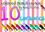 pencil cursors by alenet21tutos