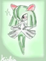 Kirlia by 0Night-Shade0