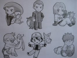 If They Were Pokemon... by maimai97