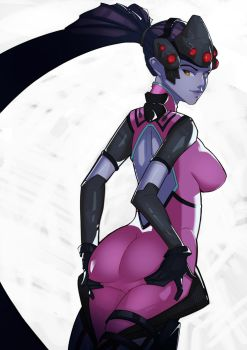 Overwatch Widowmaker by SplashBrush