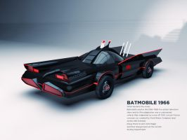 Batmobile [1966] by Enzoide