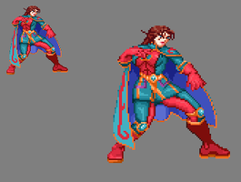 Sprite Work: Ebonivor by SXGodzilla