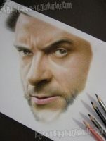 Hugh Jackman Wolverine Work In Progress 3 by A-D-I--N-U-G-R-O-H-O