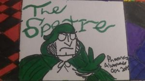 DC Icons #4: The Spectre by TheDrawingScarecrow