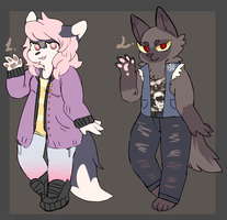 Furry adoptables CLOSED by occultic