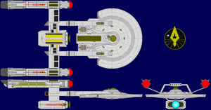 USS Resilient Axanar Era Updated by kavinveldar