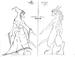Sketch-14 (BACK: Karu Side by Side Comparison) by BlueDraken