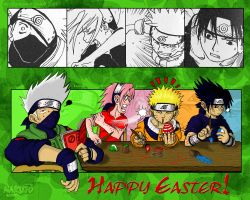 Naruto - Happy Easter by NaguX