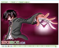 How to draw Lelouch Part 3 by SketchHeroes