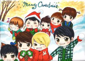 merry christmas super junior by curlymobb