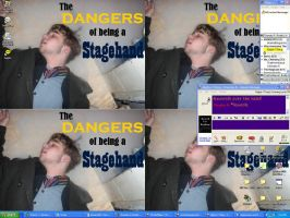 Dangers of being a Stagehand by MungoChelsQuaxo