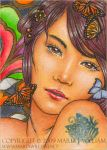 Patience - ACEO by MJWilliam