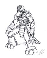Ammit Concept Sketch by NewEraOutlaw