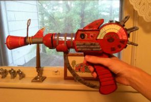 Homemade COD Zombies Ray Gun by 51Sonic