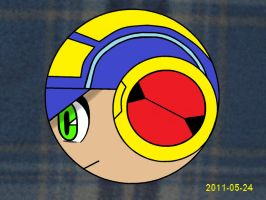 EXE Ball Cross Colored by MegamanXstream