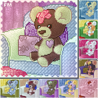 Furc Port: Ouchie the Teddy by firepixie