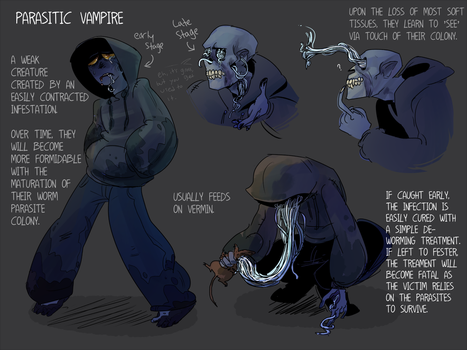 CDC day 26 - Parasitic Vampire by flatw00ds
