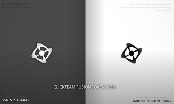 Clickteam Fusion - Custom Icons [TOKEN STYLE] by Nitroaucity