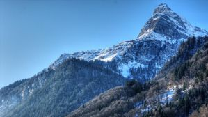 Ortsstock Rueti Glarus Switzerland by damylion